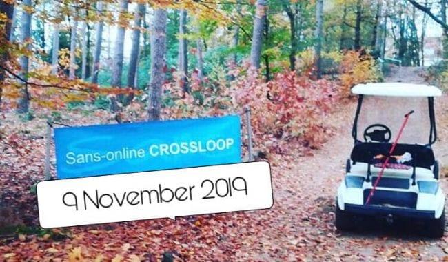 Zaterdag 9 november a.s.: Sans Online Crossloop Rijssen